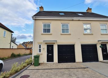 Thumbnail 3 bed semi-detached house for sale in Pettits Lane North, Romford