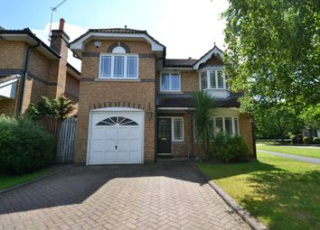 Thumbnail 4 bed detached house for sale in Sandhurst Drive, Wilmslow