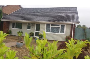 Thumbnail 3 bed detached bungalow for sale in Hawks Moor Close, Newport