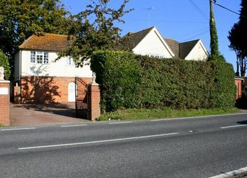 Thumbnail 5 bed detached house for sale in Harwich Road, Little Clacton, Clacton On Sea