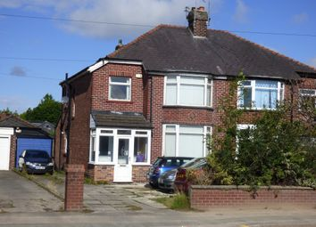 Thumbnail 3 bed semi-detached house for sale in Macclesfield Road, Hazel Grove, Stockport