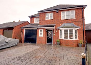 Thumbnail 4 bed detached house for sale in Mitchell Close, Fradley, Lichfield