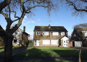 Thumbnail 3 bed semi-detached house for sale in Outerwyke Road, Felpham, Bognor Regis, West Sussex