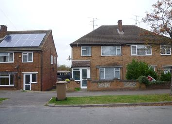 Thumbnail 3 bedroom property to rent in Pennine Avenue, Luton