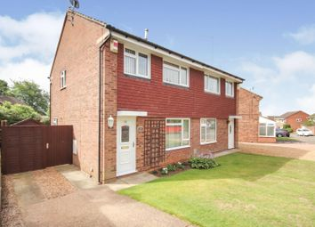 Thumbnail 3 bed semi-detached house for sale in Beaumont Drive, Northampton
