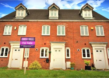 Thumbnail 3 bedroom terraced house for sale in Rothwell Close, St Georges, Telford