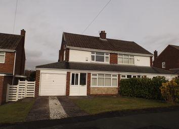 Thumbnail 3 bedroom semi-detached house to rent in Shaw Moor Avenue, Stalybridge