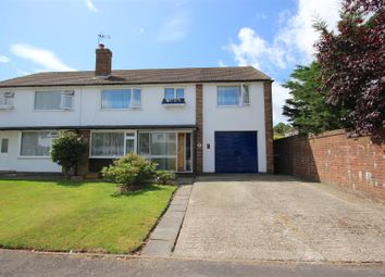 Thumbnail 5 bed semi-detached house for sale in Inhurst Avenue, Waterlooville