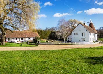 Thumbnail 5 bed barn conversion for sale in Hale Oak Road, Chiddingstone, Edenbridge