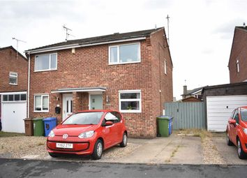 Thumbnail 2 bed semi-detached house for sale in Rosewood Close, Bridlington
