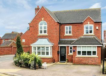 Thumbnail 4 bedroom detached house for sale in The Crescent, Melton Mowbray
