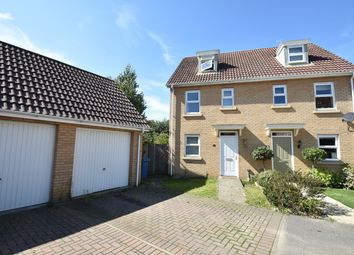 Thumbnail 3 bedroom semi-detached house to rent in Spicer Way, Great Cornard, Sudbury