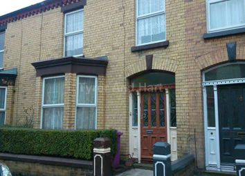 Thumbnail 8 bed shared accommodation to rent in Kenmare Road, Wavertree, Liverpool