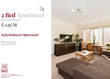 Thumbnail 2 bed flat for sale in Princes Gate Court, London