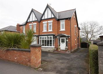 Thumbnail 4 bedroom semi-detached house for sale in 28, Finaghy Road South, Belfast