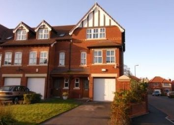 Thumbnail 4 bed town house to rent in Larton Farm Close, West Kirby, Wirral