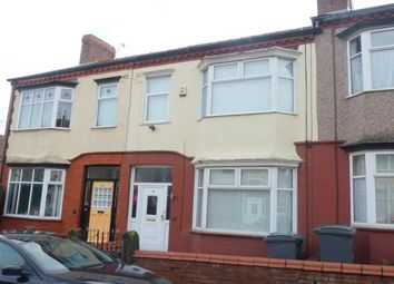 Thumbnail 3 bed terraced house to rent in Parkbridge Road, Tranmere
