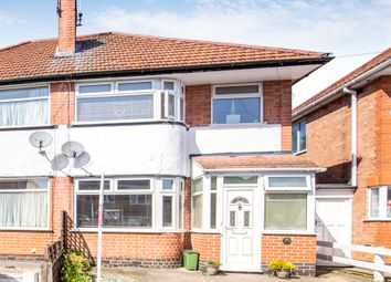 Thumbnail 3 bed semi-detached house for sale in Shottery Avenue, Braunstone Town, Leicester