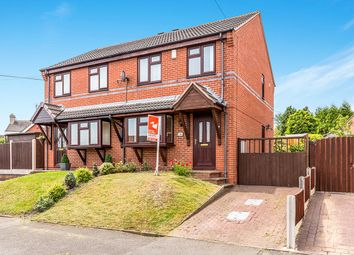 Thumbnail 3 bed semi-detached house for sale in Birch Avenue, Newhall, Swadlincote
