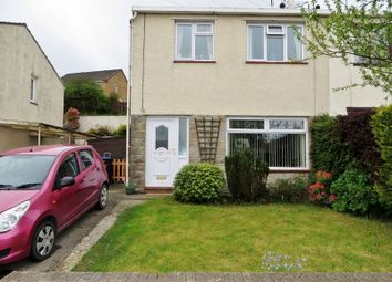 Thumbnail 3 bed semi-detached house for sale in Canterbury Road, Beaufort, Ebbw Vale