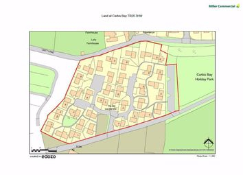 Thumbnail Commercial property for sale in Carbis Bay Investment Land, Laity Lane, St Ives