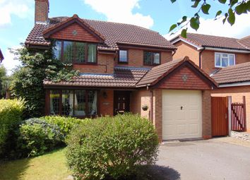 Thumbnail 4 bed detached house for sale in Mulberry Way, Hilton, Derby