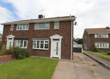 Thumbnail 3 bed semi-detached house for sale in Caernarvon Place, Grove Park, Blackwood