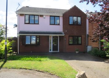 Thumbnail 5 bed detached house for sale in Caversfield Close, Littleover, Derby