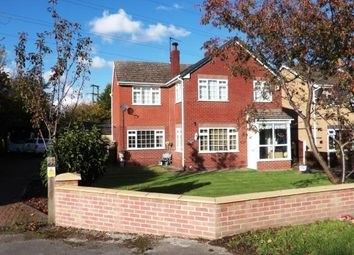 Thumbnail 4 bed detached house for sale in Wood Lane, Hawarden, Flintshire