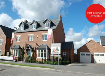 Thumbnail 5 bed detached house for sale in The Dove - Plot167, Southfield Road, Sileby, Leicestershire