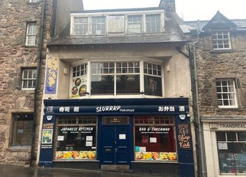 Thumbnail Restaurant/cafe for sale in Candlemaker Row, Edinburgh