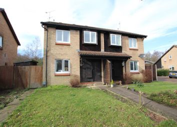 Thumbnail 1 bed flat to rent in Willowmead Close, Horsell, Woking