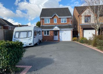 Thumbnail 3 bed detached house for sale in Curlew Close, Coalville, Leicestershire