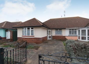 Thumbnail 2 bed semi-detached bungalow for sale in The Warren Drive, Westgate-On-Sea