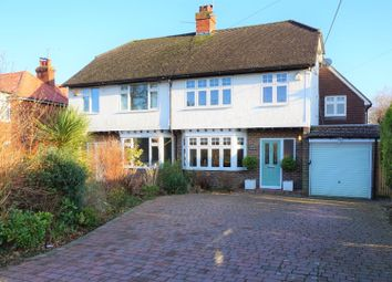 Thumbnail 4 bed semi-detached house for sale in Vicarage Road, Crawley