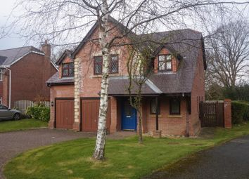 Thumbnail 4 bed detached house for sale in Bryn Adda, Bangor