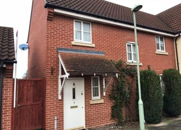 Thumbnail 3 bedroom terraced house to rent in Myrtle Close, Bury St. Edmunds
