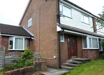 Thumbnail 4 bed semi-detached house for sale in Fernlea Drive, Clayton-Le-Moors, Accrington