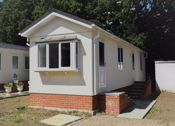 Thumbnail 2 bed mobile/park home for sale in East Hill Road, Knatts Valley, Sevenoaks