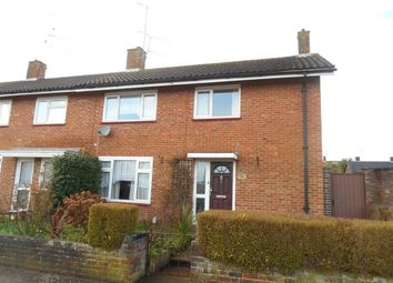 Thumbnail 4 bed end terrace house for sale in Drake Road, Crawley, West Sussex