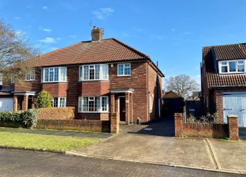 Thumbnail 3 bed semi-detached house for sale in Elmlands Grove, Stockton Lane, York