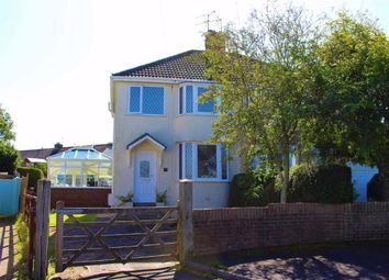 Thumbnail 3 bed semi-detached house for sale in Three Cliffs Drive, Southgate, Swansea