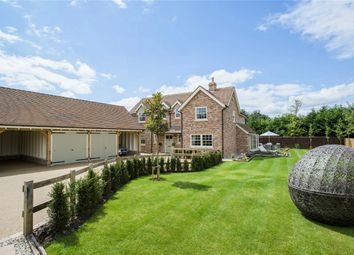Thumbnail 4 bedroom detached house for sale in Potton Road, Guilden Morden, Royston