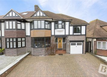 Thumbnail 4 bed semi-detached house for sale in Harman Avenue, Gravesend, Kent