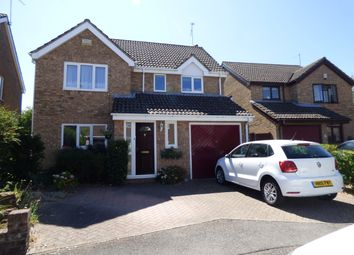 Thumbnail 4 bed detached house for sale in Broadmeadow Close, Totton