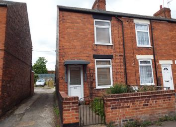 Thumbnail 2 bed end terrace house to rent in Welbeck Street, Creswell, Worksop