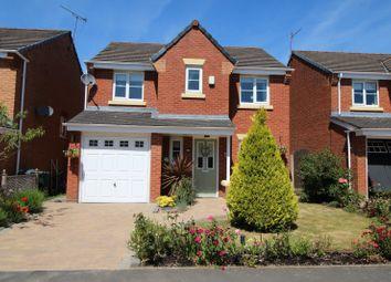 Thumbnail 4 bed detached house for sale in De Haviland Way, Skelmersdale, Lancashire