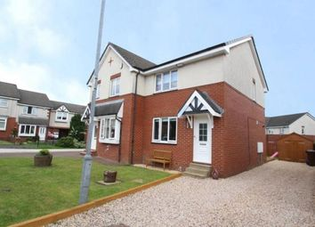 Thumbnail 2 bed semi-detached house for sale in Glenluce Gardens, Moodiesburn, Glasgow, North Lanarkshire
