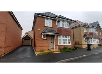 Thumbnail 4 bed detached house to rent in Farnley Road, Leicester