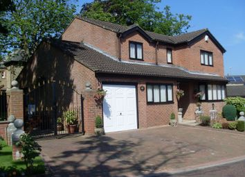 Thumbnail 4 bed detached house for sale in Vicarage Close, Howden Le Wear, Crook